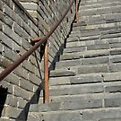 Great Wall Steps by Nicholas Coates