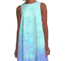Tie Dye style Image/pattern  A-Line Dress
