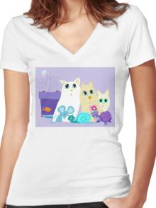 Friendships Beyond Compare Women's Fitted V-Neck T-Shirt