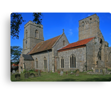 All Saints, Weybourne Canvas Print