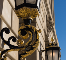 Gilded Lanterns - Washington, DC Facades - Federal Triangle Neighborhood Sticker