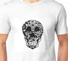 Zentangle Skull Unisex T-Shirt