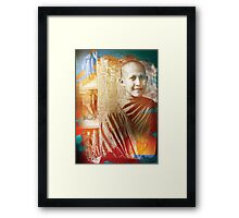 Monk Dance Framed Print