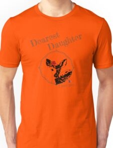 Deer Younger Daughter - I love my dear family Unisex T-Shirt
