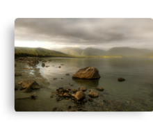 Wake up Fiordland, Here Comes the Sun Canvas Print