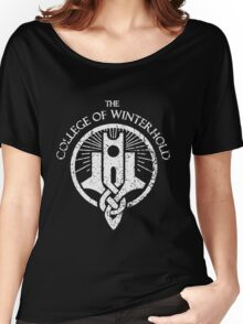 The College of Winterhold Women's Relaxed Fit T-Shirt