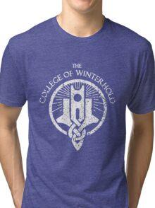 The College of Winterhold Tri-blend T-Shirt