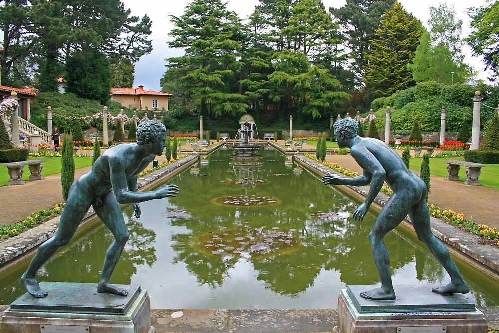 Italian Garden, Compton Acres by RedHillDigital