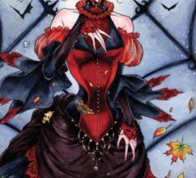 The Black Widow's Garden Sticker