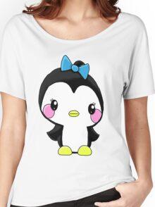 Girl Penguin Women's Relaxed Fit T-Shirt