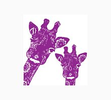 Purple Giraffes Unisex T-Shirt
