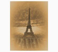 Vintage Paris Eiffel Tower #2 Baby Tee