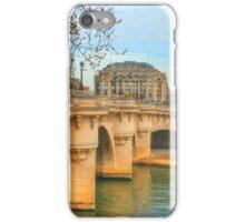 Pont Neuf .. Oldest Bridge Across The Seine iPhone Case/Skin