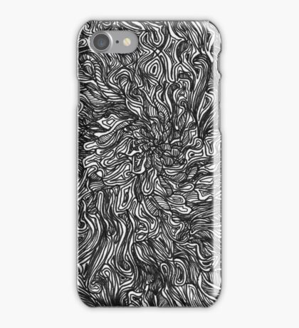 Psychedelic Fur Drawing - 9.24.16 (1) iPhone Case/Skin