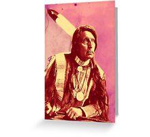 Chief Red Shirt (Oglala) Greeting Card
