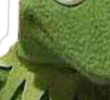 Kermit Drinks Milk Sticker