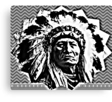 Chief Sitting Bull, NoDAPL Canvas Print