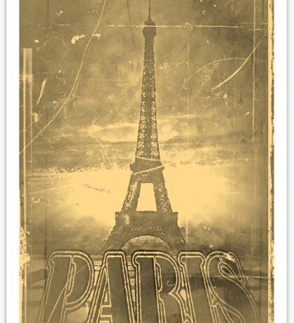 Vintage Paris Eiffel Tower #3 Sticker