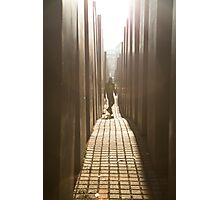 Holocaust Memorial Photographic Print