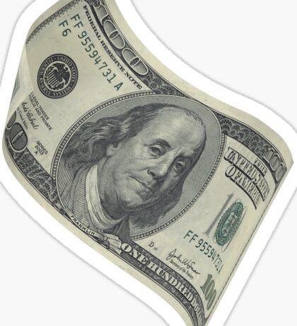 American Money 100$ Bill Sticker