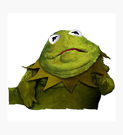Kermit the Hutt Photographic Print