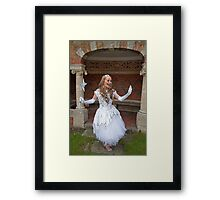 Pop Idol Sonia Framed Print
