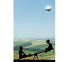 Childhood Dreams, The Seesaw Photographic Print
