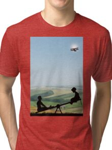 Childhood Dreams, The Seesaw Tri-blend T-Shirt