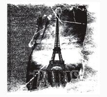 Vintage Paris Eiffel Tower #4 One Piece - Short Sleeve