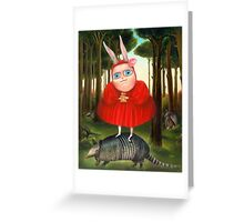 Secret. Prints on Premium Canvas. Greeting Card