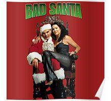 Badder Santa Poster