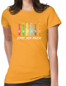 EPIC SIX PACK Womens Fitted T-Shirt