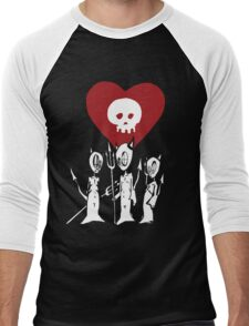 flat alkaline trio Men's Baseball ¾ T-Shirt