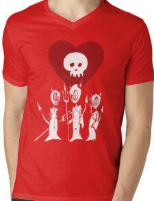 flat alkaline trio Mens V-Neck T-Shirt
