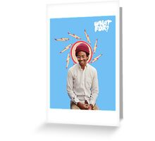 Toro Y Moi / What For Greeting Card