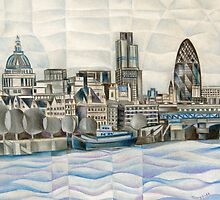 London Skyline by Tiffany Budd