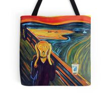 The Scream over an Empty Pint Tote Bag