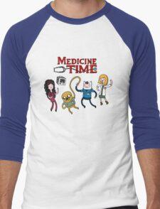 Medicine Time! Men's Baseball ¾ T-Shirt