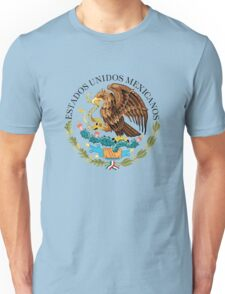 Mexican seal or coat of arms, Authentic version Unisex T-Shirt