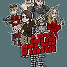 Arya Stark vs. the World! by oliviero