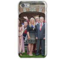 Sleeping Beauty cast with the Mayor and Deputy Mayor of Bromley iPhone Case/Skin