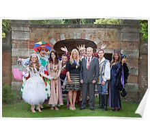 Sleeping Beauty cast with the Mayor and Deputy Mayor of Bromley Poster