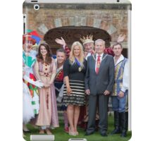 Sleeping Beauty cast with the Mayor and Deputy Mayor of Bromley iPad Case/Skin