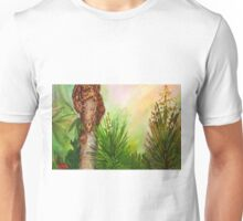 Spanish Bayonets With Palm Unisex T-Shirt