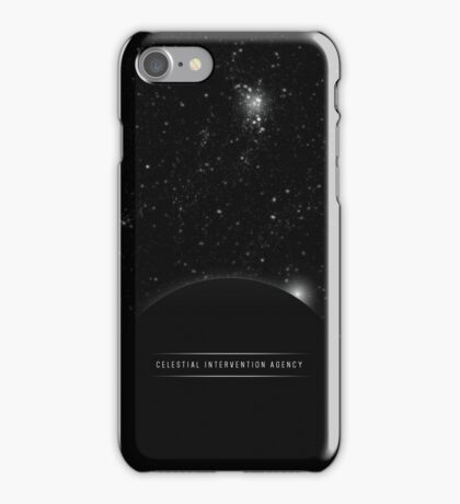 Celestial Intervention Agency iPhone Case/Skin
