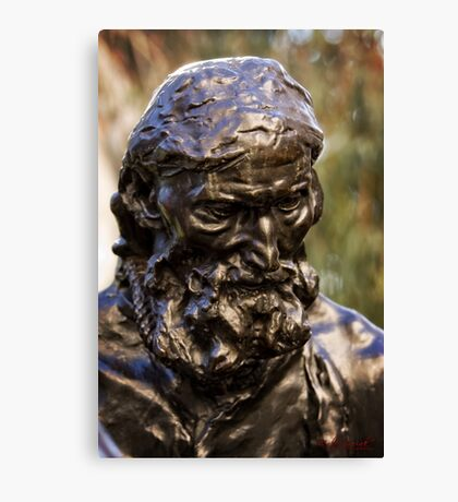 Auguste Rodin Sculpture in Canberra/ACT/Australia Canvas Print