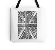 Black and White icon. Tote Bag