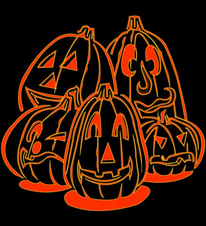 Jack o Lanterns Sticker