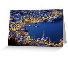 Pothia nights - Kalymnos island Greeting Card