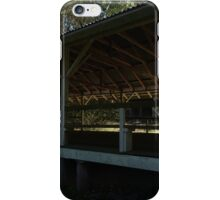 Open-air, Aussie outback dance hall iPhone Case/Skin